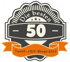 50 besten DIY-/Textil-Blogs 2017